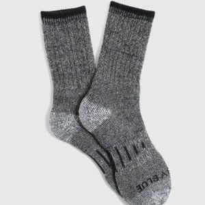 United by Blue Men's Soft Hemp Trail Crew Sock - L